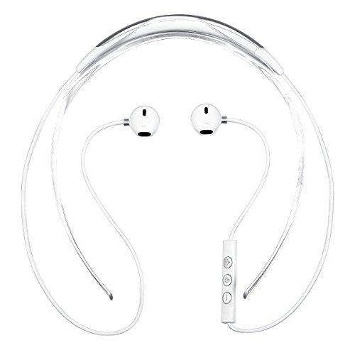 Extra Bass Neckband Headphones - Bluetooth Headphones, Ctrinews X19C Wireless Headset Bluetooth 4.1 Sports Earphones Neckband Design Magnetic Suction Extra Bass CVC 6.0 Noise Cancelling Sweat Proof