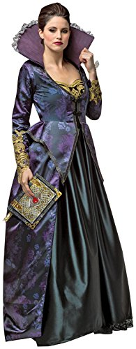 Rasta Imposta Women's Once Upon A Time Evil Queen, Purple/Black, X-Large (Once Upon A Time Snow Queen Costume)