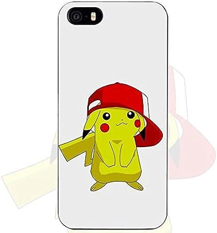 Giallo rosso bianco nero Pikachu iPhone 6 case elettrico Pokemon ...