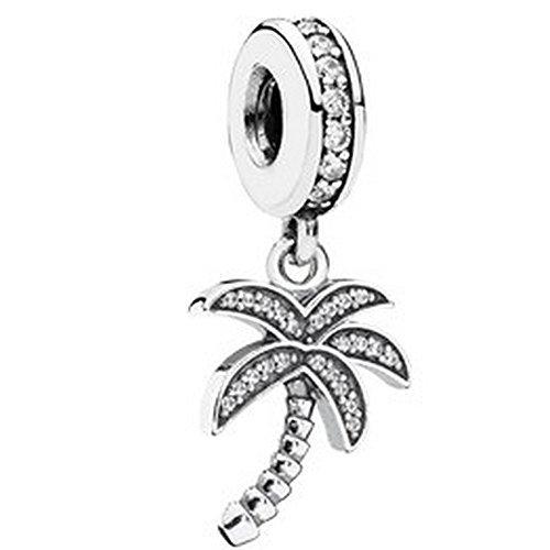 Pandora 791540cz Sparkling Palm Tree Charm