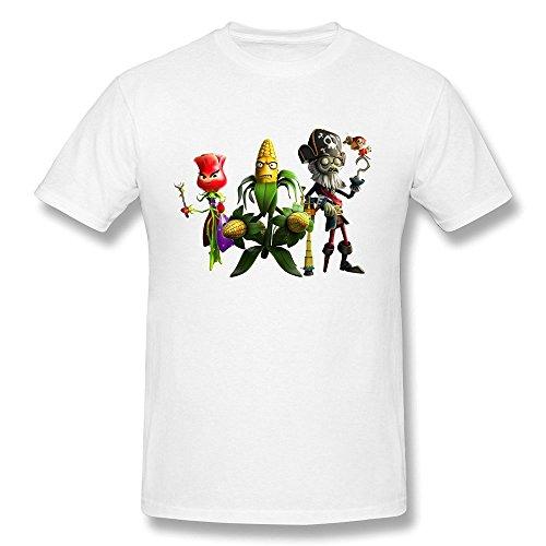 Losnger Men's Plants Vs. Zombies Garden Warfare 2 T Shirt XXL