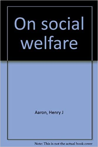 On social welfare: Henry J Aar...