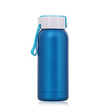 Living&Giving Small Thermos 8 oz, Stainless Steel Metal Water Bottle,  Vacuum Insulated Double Wall Flask, Easy to take to-GO Grinkware