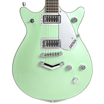 Gretsch Electromatic Double Jet Broadway Jade GSR Limited Edition CME Exclusive w/Thumbnail Inlays & B/W/B Top Purfling
