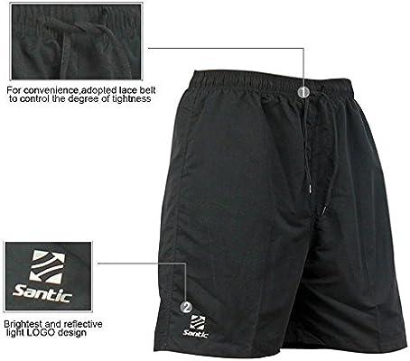 di colore nero HI8/Store pantaloncini imbottiti da mountain bike da uomo 4D