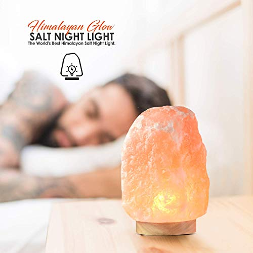 Himalayan Glow 1001, ETL Certified Himalayan Pink Salt, Home Décor Table Lamps | 5-8 lbs by WBM by Himalayan Glow (Image #4)