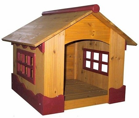 Merry Pet House Wooden Ice Cream Dog House