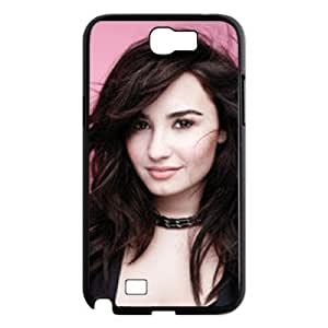 C-EUR Diy Phone Case Demi Lovato Pattern Hard Case For Samsung Galaxy Note 2 N7100