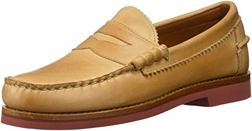 [Allen Edmonds Men's Sedona Penny Loafer, Tan Leather, 7 D US] (Dress Loafer Beef Roll)