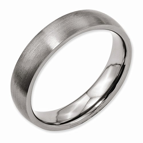 Chisel Titanium 5mm Brushed Band