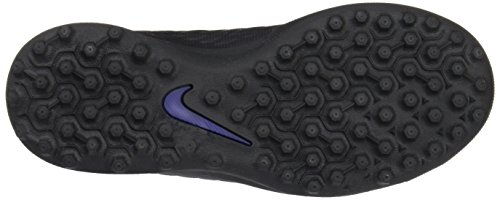 Nike Jr Hypervenomx Phade III TF, Botas De Fútbol Para Unisex Niños, Negro (Black/Black), 30 EU