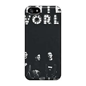 Best Cell-phone Hard Covers For Iphone 5/5s With Customized Vivid Papa Roach Pattern CharlesPoirier