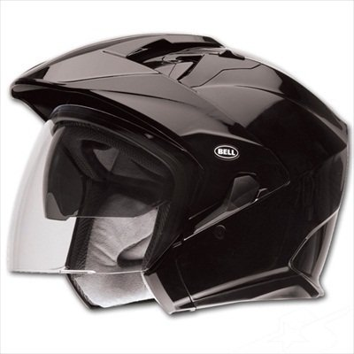 Bell MAG-9 Open Face Motorcycle Helmet (Black, X-Large) (Non-Current Graphic)