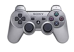 PlayStation 3 Dualshock 3 Wireless Controller (Metallic Gray) by Sony Computer Entertainment