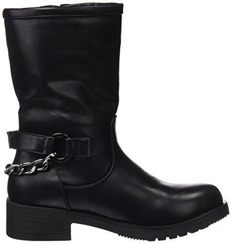 Blk Biker WoMen Black Boots COOLWAY Brook q7awEnxXn