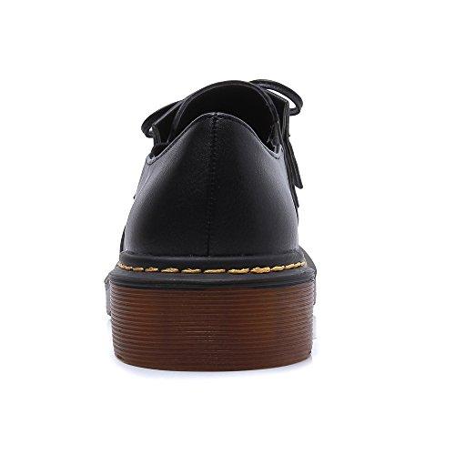 Court Shoes talons Petits Noir femme HUDONGBO Y1dqxZ1