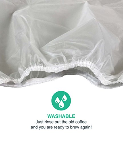 Think Crucial 10PK Replacement Paper Coffee Filter Bag & Strainer Fits Toddy Cold Brew System 5 Gallon by Think Crucial (Image #2)