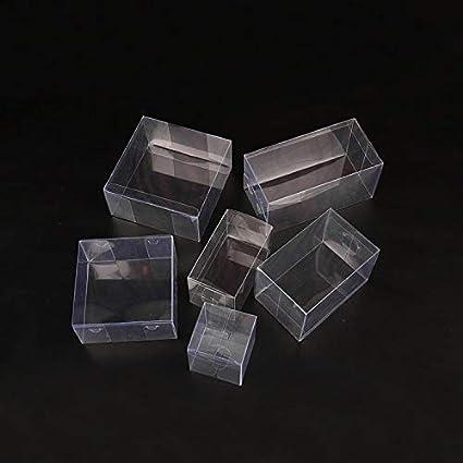Tremendous Amazon Com Xlpd 25 Sizes Transparent Plastic Pvc Box Small Download Free Architecture Designs Lectubocepmadebymaigaardcom
