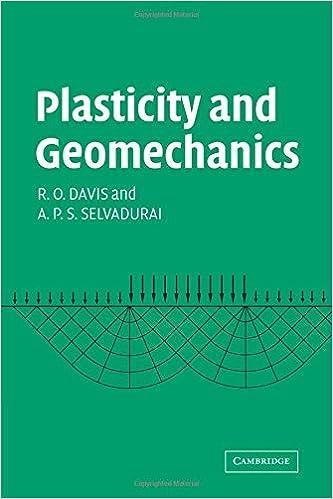 Plasticity and Geomechanics