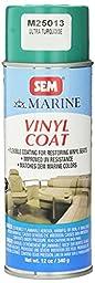 SEM M25013 Ultra Turquoise Marine Vinyl Coat - 16 oz.
