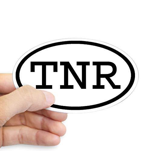 (CafePress TNR Oval Oval Sticker Oval Bumper Sticker, Euro Oval Car Decal)