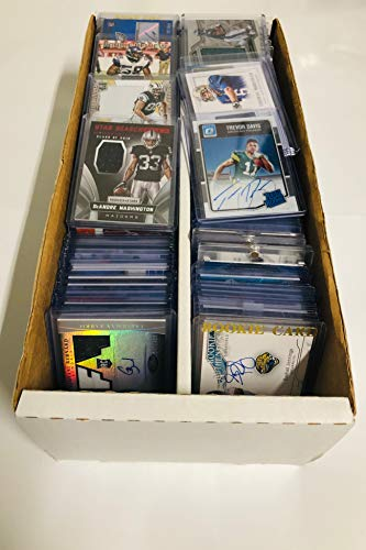 NFL Football Card Relic Game Used Jersey Autograph Hit Lot with 10 Relic Autograph or Jersey Cards Per Lot Perfect Party Favor or for NFL Collector or Fanatic Football Fan Every Lot is Unique from Superior Sports Investments