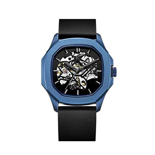 KLEIN Watches Otus Blue – Reloj automático con correa de silicona (40 mm)