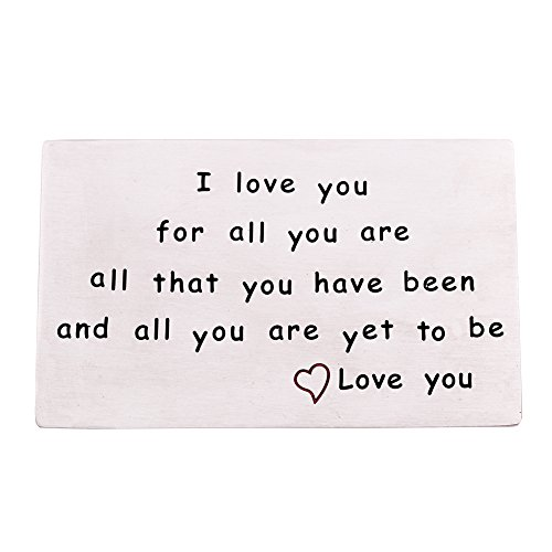 O.RIYA I Love You Wallet Card (White)
