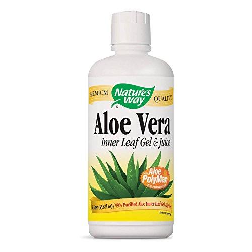 Nature's Way Aloe Vera Gel and Juice, 1 Lite (Packaging May Vary)