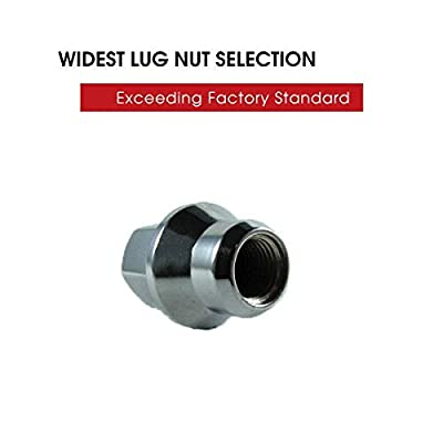 EZAccessory Lug Nuts OEM For Dodge Challenger 14x1.5 Thread Set of 20 Pcs: Automotive