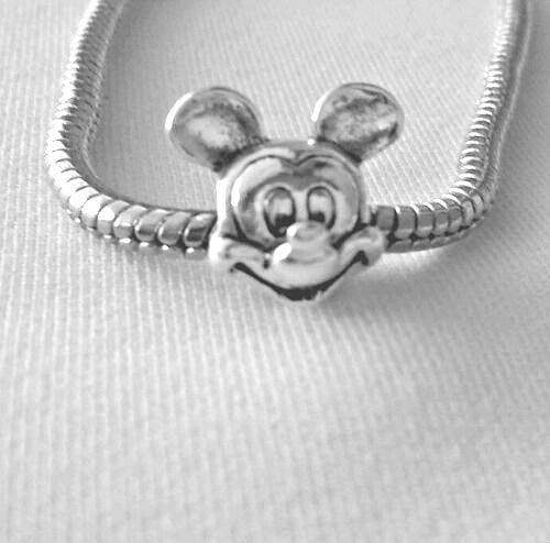 Mickey Mouse s925 Ale Sterling - Charm Bead for European Bracelet or Pendant