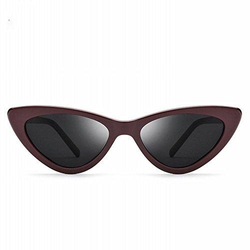Europeo UN Sol Modelos de ZPD Moda de de Sol Retro Gato tamaño Estilo y Gafas de Americano Un de de Ojo Gafas Gafas pequeño triángulo Mujer de qfAfXwxCS