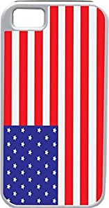 Blueberry Design iPhone 4 4S Case Cover American Flag Illustration