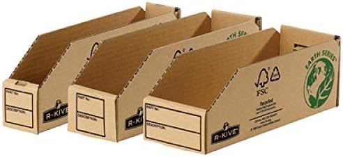 Fellowes Bankers Box Earth Aufbewahrungsbox für Kleinkinder, Schwarz