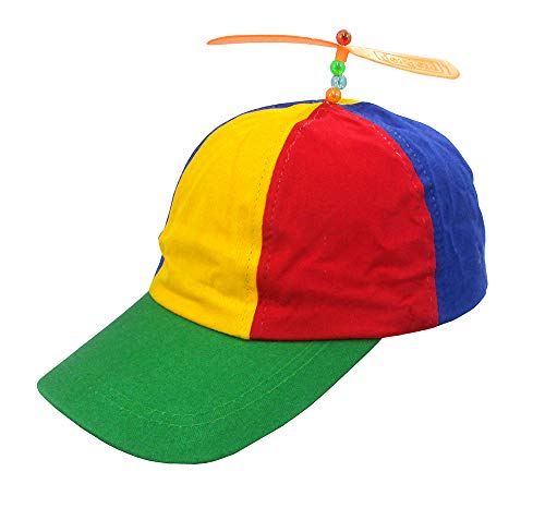 Nicky Bigs Novelties Multi-Color Propeller Ball Cap, Multi, One Size ()