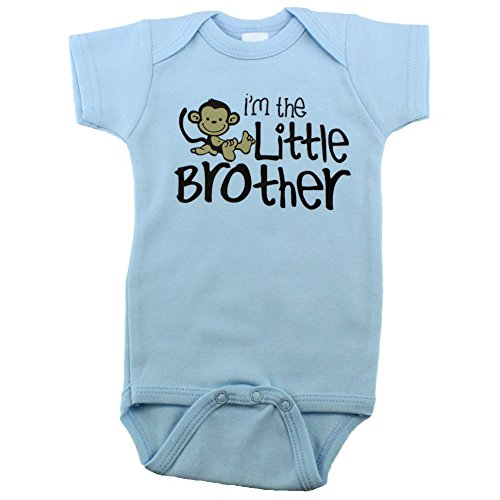 Baby Onesies Monkey Little Brother