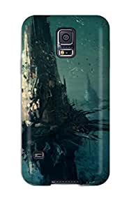 Durable Protector Case Cover With Underwater City Hot Design For Galaxy S5