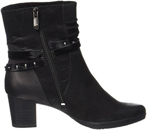 25421 Women's premio Ant TOZZI Black MARCO Boots comb Black 096 twqT6