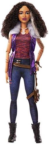 Zombies Disney's 2, Willa Lykensen Werewolf Doll (11.5-inch) Wearing Rocker Outfit and Accessories, 11 Bendabl