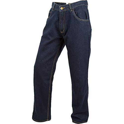 ScorpionExo Covert Jeans Men's Reinforced Motorcycle Pants (Blue, Size 36)