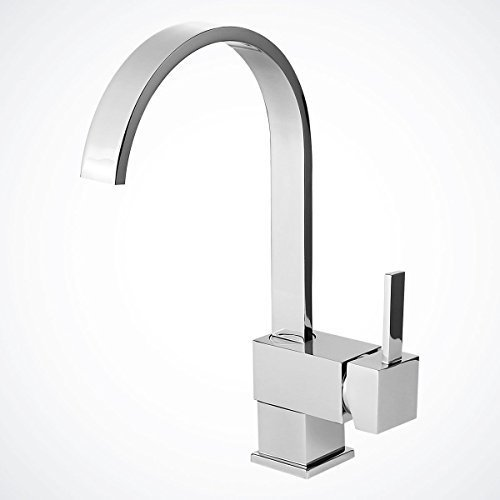 New 12 ? Chrome Kitchen Bathroom Faucet Vessel Sink Basin Wet Bar Swivel Spout'' by Bar Sink Faucets by Bar Sink Faucets