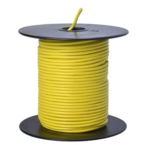 Southwire 55843823 Primary Wire, 18-Gauge Bulk Spool, 100-Feet ...