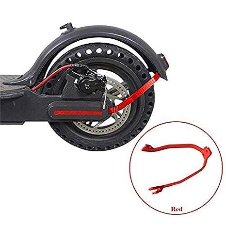 Rojo Cikuso Soporte De Guardabarros Trasero?Soporte Rigido para Scooter Electrico M365 M365 Pro Scooter Accesorios Piezas