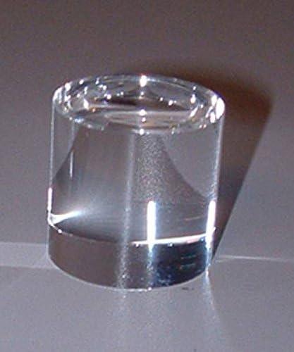 Homyl Support De Pr/ésentoir pour Boule De Cristal Sph/ère 11 x 11 x 4 cm