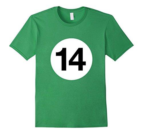 number 14 billiard ball - 7