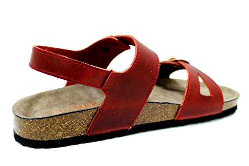 Romika Women's Fashion Sandals Red 9OsI5wGt