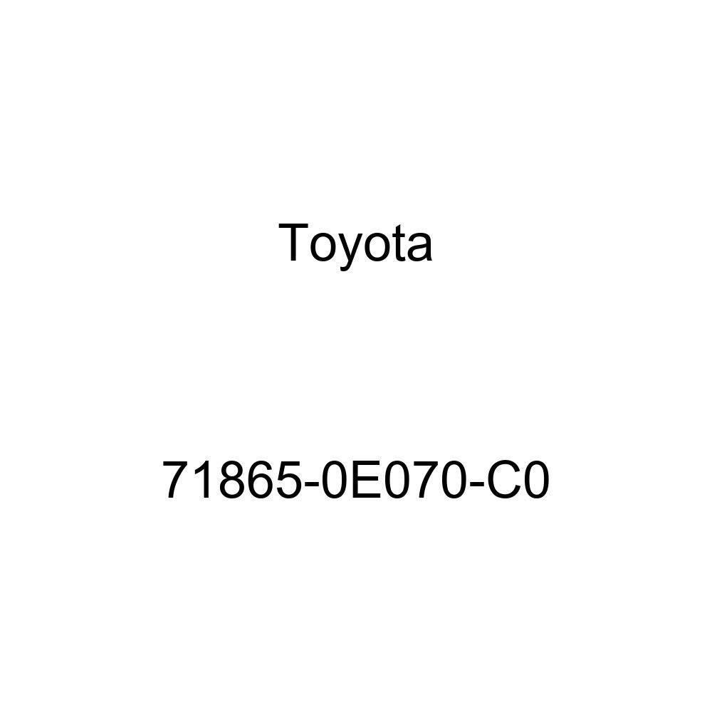 TOYOTA 71865-0E070-C0 Seat Cover Bezel
