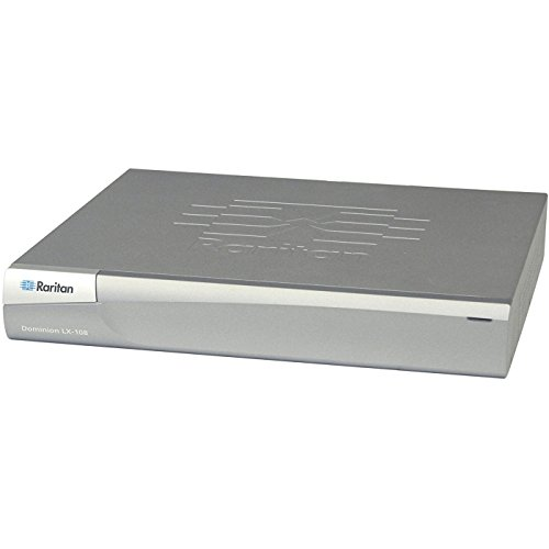 (Raritan Dominion LX-108 - KVM Switch - 8 Ports - Rack-mountable (DLX-108))