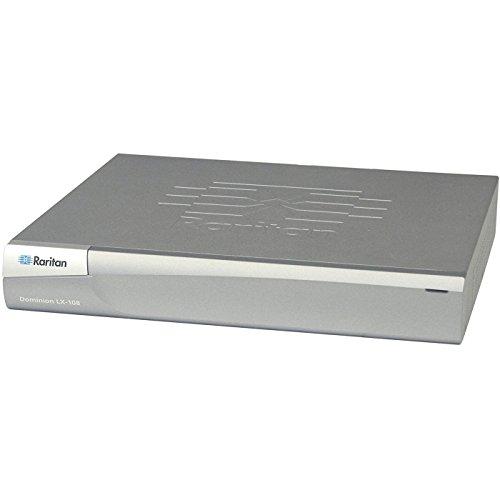 Raritan Dominion LX-108 - KVM switch - 8 ports - Rack-mountable (DLX-108) by Raritan