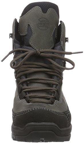 HanwagTorne Lady GTX - zapatillas de trekking y senderismo de media caña Mujer Negro - Schwarz (Schwarz 12)